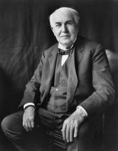 Thomas Edison en zijn verhaal