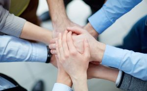 Samenwerken is de basis van een team
